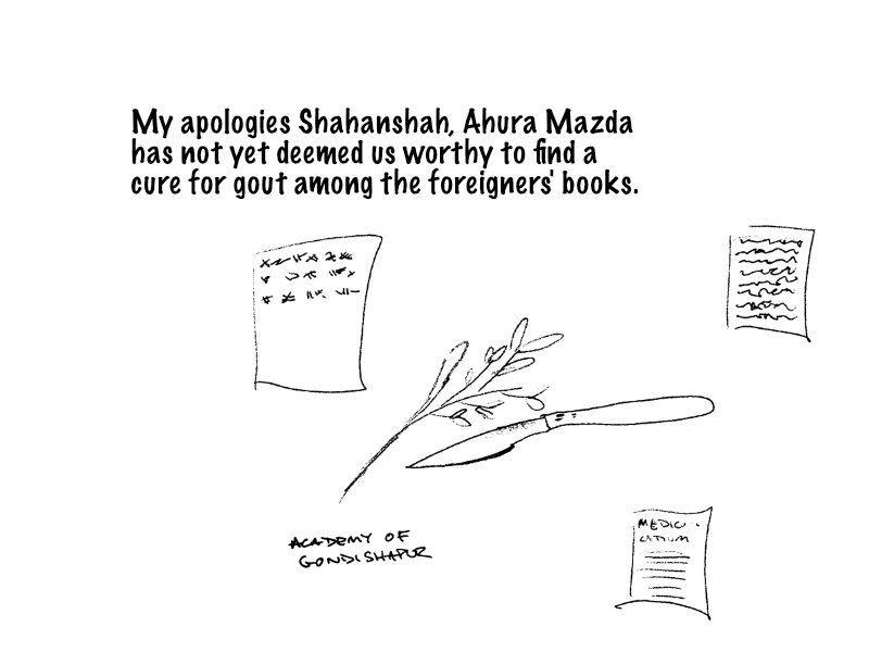 Apologies Shahanshah, we have not found the cure for gout